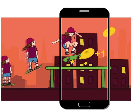 Spielerisches Aktivitäten mit Smartphones im Schulkontext