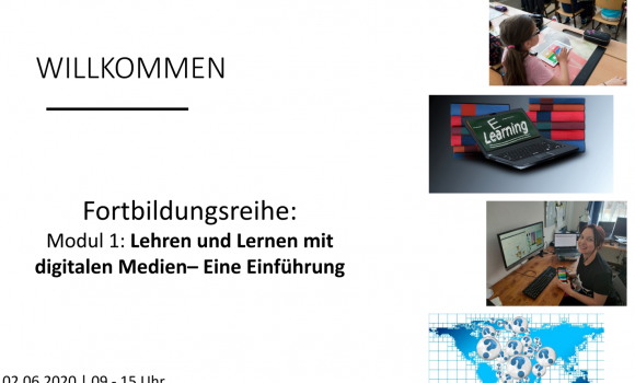 """Nachlese: Fortbildungsreihe """"Lehren und Lernen mit digitalen Medien – Modul 1"""""""