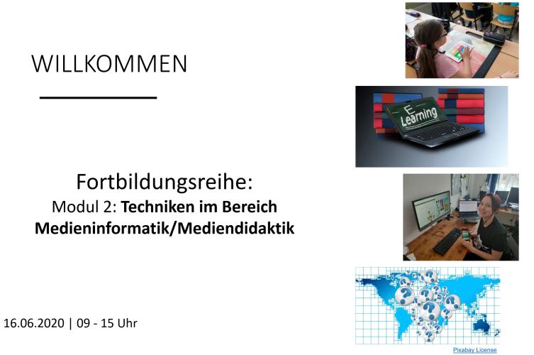 """Nachlese: Fortbildungsreihe """"Lehren und Lernen mit digitalen Medien – Modul 2"""""""